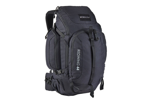 Black - Kelty Redwing 44 Tactical backpack, front view