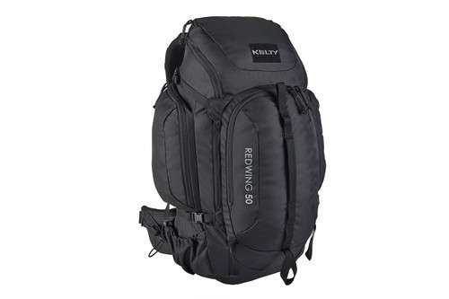 Black - Kelty Redwing 50 Tactical backpack, front view