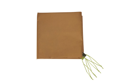 Kelty Sequoia 4 Footprint, brown, with green attachment points