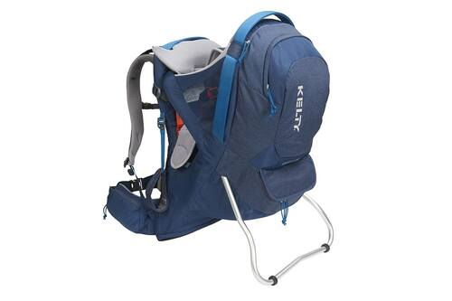 Insignia Blue - Kelty Journey PerfectFIT Signature child carrier backpack, front view