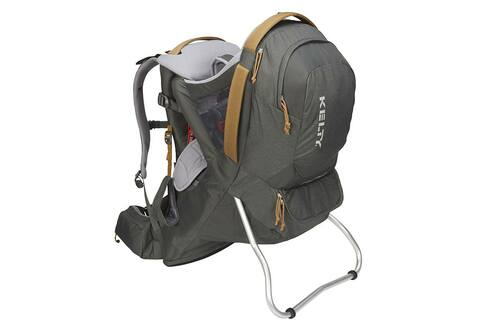 Dark Shadow - Kelty Journey PerfectFIT Signature child carrier backpack, front view