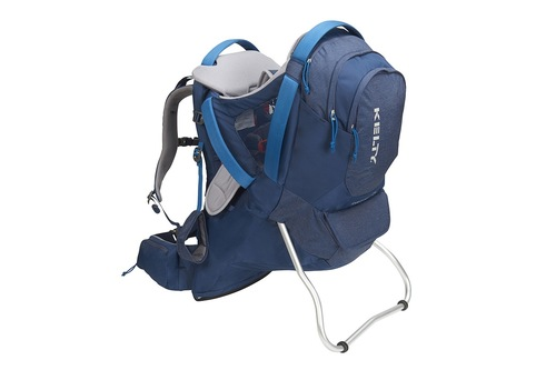 Insignia Blue - Kelty Journey PerfectFIT Elite child carrier backpack, front view