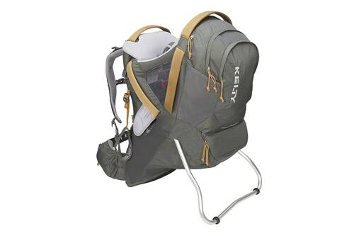 Dark Shadow - Kelty Journey PerfectFIT Elite child carrier backpack, front view