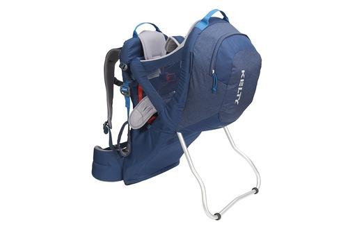 Insignia Blue - Kelty Journey PerfectFIT child carrier backpack, front view