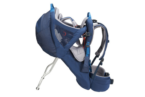 Kelty Journey PerfectFIT child carrier backpack, Insignia Blue, side view