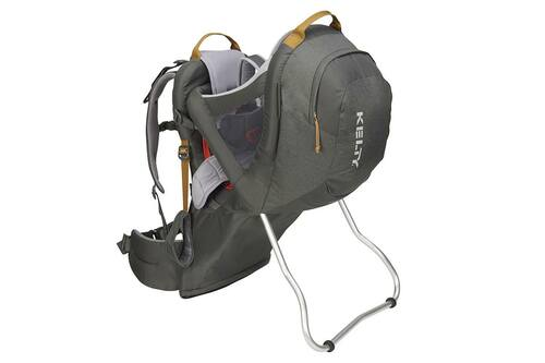 Dark Shadow - Kelty Journey PerfectFIT child carrier backpack, front view