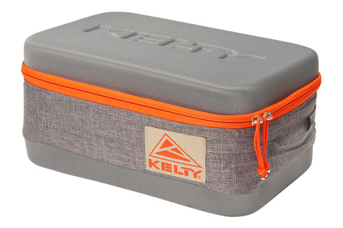 Large Kelty Cache Box, grey, closed