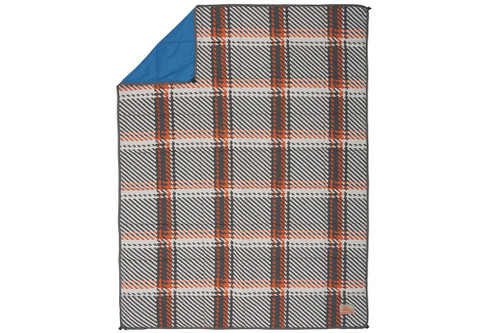 Plaid/Lyons Blue - Kelty Bestie BFF Blanket, top view