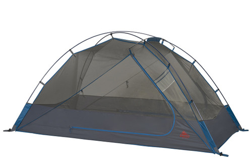 Kelty Night Owl 2 person tent, blue, with rain fly removed
