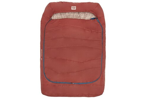 Fired Brick Geo - Kelty Tru.Comfort Doublewide 20, shown fully closed