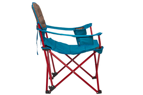 Kelty Deluxe Lounge Chair, Deep Lake, side view