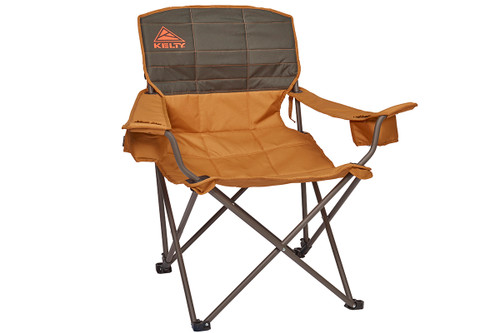 Canyon Brown - Kelty Deluxe Lounge Chair, front view
