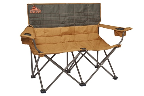 Canyon Brown - Kelty Loveseat 2-person camping chair, front view