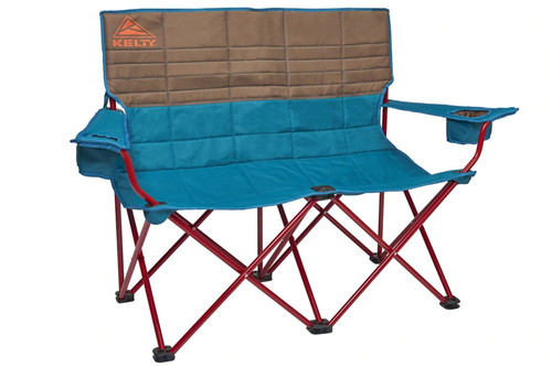 Deep Lake - Kelty Loveseat 2-person camping chair, front view