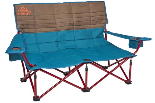 Deep Lake - Kelty Low Loveseat 2-person camping chair, front view