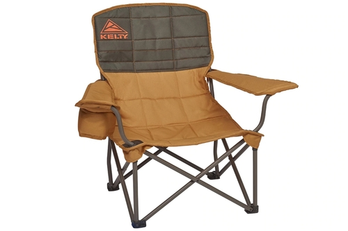 Canyon Brown - Kelty Lowdown camping chair, front view