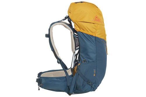 Kelty Zyp 38 backpack, Sunflower, side view