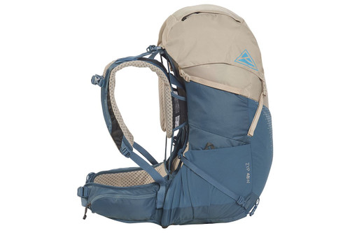 Kelty Women's Zyp 48 backpack, sand, side view