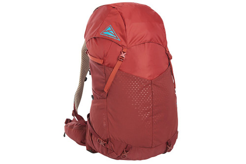 Red Ochre - Kelty Women's Zyp 48 backpack, front view