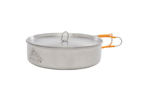 Kelty Camp Kitchen stainless steel pan with lid