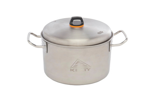 Kelty Camp Kitchen stainless steel pot with lid