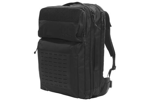 Kelty Nomad travel pack, black, front view