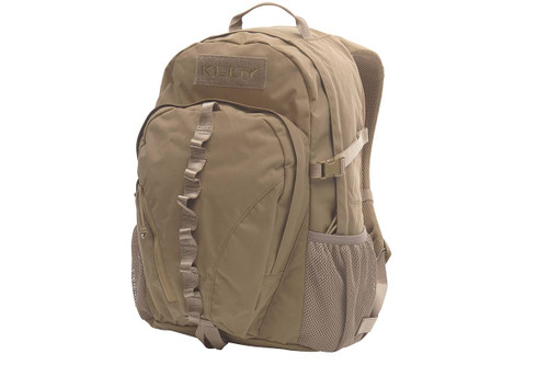 Coyote Brown - Kelty Peregrine 1800 backpack, front view