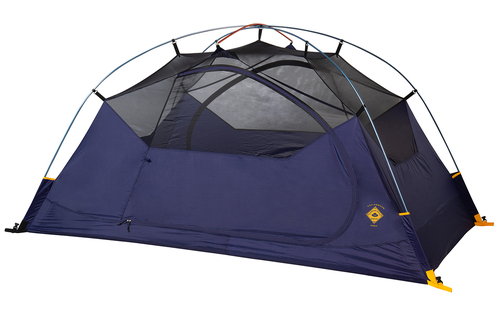 Kelty Ranger Doug 2 Person Tent, blue, shown with rain fly removed
