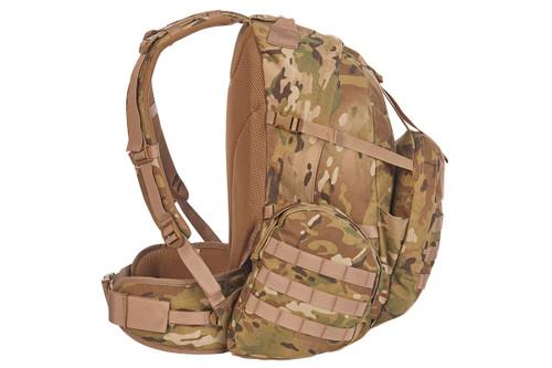 Strike 2300 USA backpack, multicam, side view