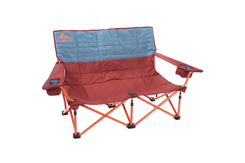 Kelty Discovery Low-Love 2-person chair, blue/red