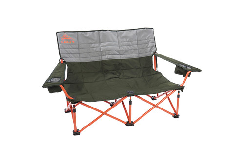 Kelty Discovery Low-Love 2-person chair, gray/green