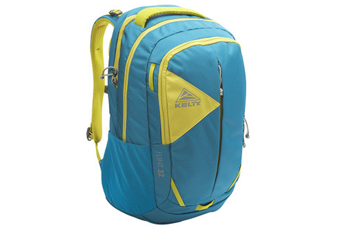 Lyons Blue - Kelty Flint 32 daypack, front view