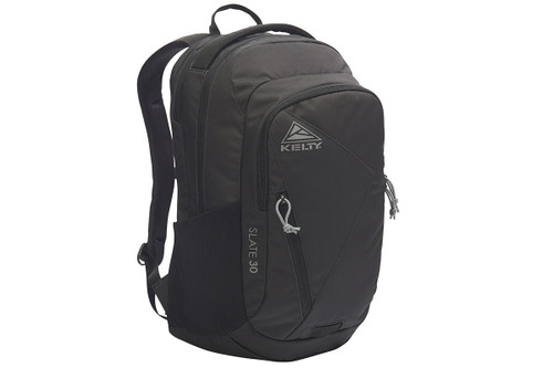 Black - Kelty Slate 30 Daypack, front view
