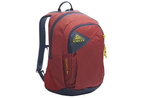 Red Ochre - Kelty Quartz 33 Daypack, front view