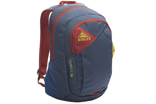 Midnight Navy - Kelty Quartz 33 Daypack, front view