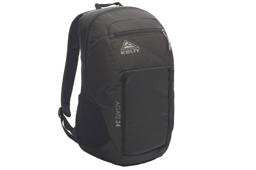 Black - Kelty Agate 24 Daypack, front view