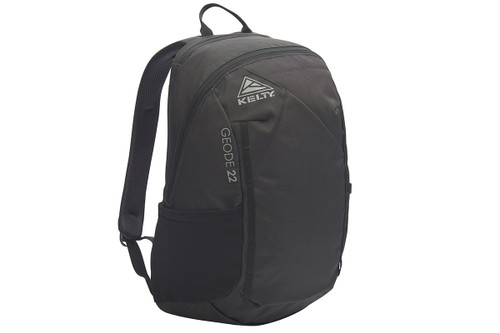 Black - Kelty Geode 22 Daypack, front view