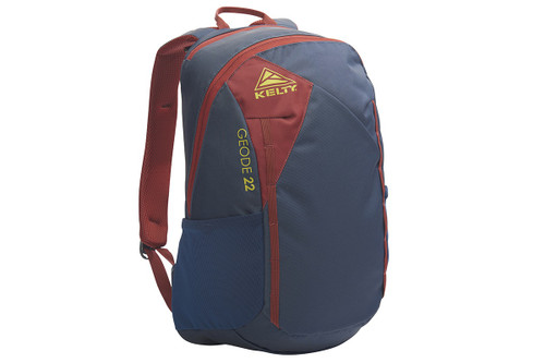 Midnight Navy - Kelty Geode 22 Daypack, front view