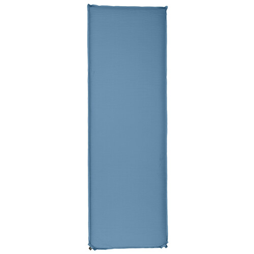 Kelty Galactic Sleeping Pad, blue, back view, shown inflated