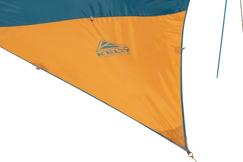 Close up of corner of Kelty Noah's Tarp 12