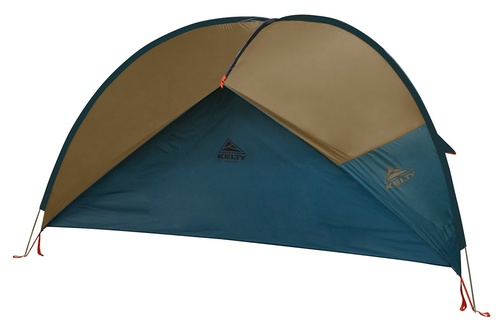 Kelty Sunshade With Side Wall, Fallen Rock, shown with side wall attached