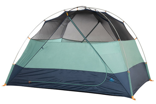 Kelty Wireless 6 tent, green, shown without fly