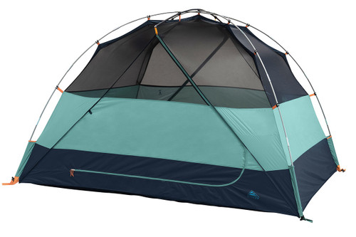 Kelty Wireless 4 tent, green, shown without fly