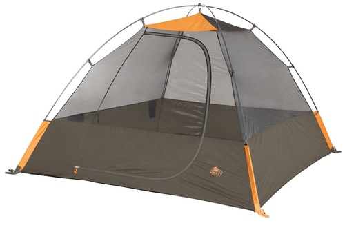 Kelty Grand Mesa 4 tent, brown, shown without fly