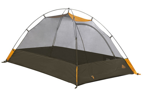 Kelty Grand Mesa 2 tent, brown, shown without fly