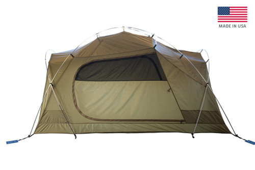 Coyote Brown - Kelty 4-6 Person Squad 4-Season Tent
