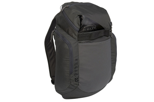 Asphalt/Blackout - Kelty Redwing 22 backpack, front view
