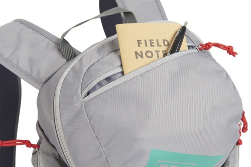 Close up of Kelty Redwing 22 backpack, with top pocket opened