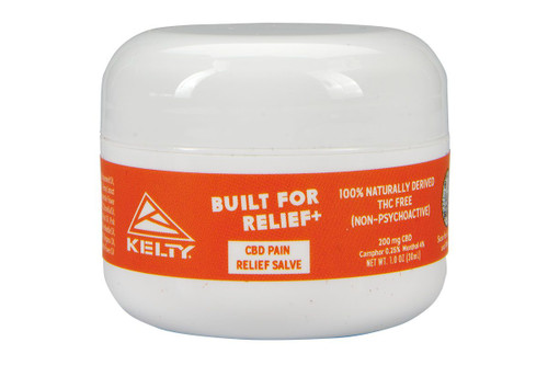 Kelty CBD Pain Relief Salve, 200mg, front view