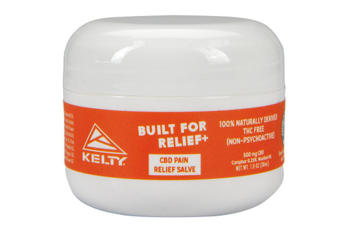 Kelty CBD Pain Relief Salve, 500mg, front view